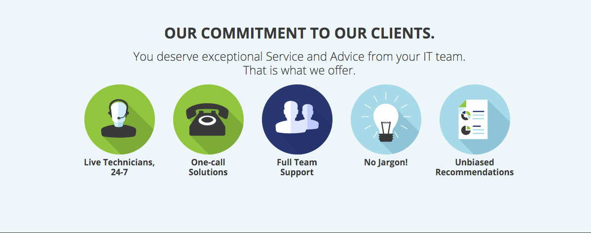 Commitment to clients